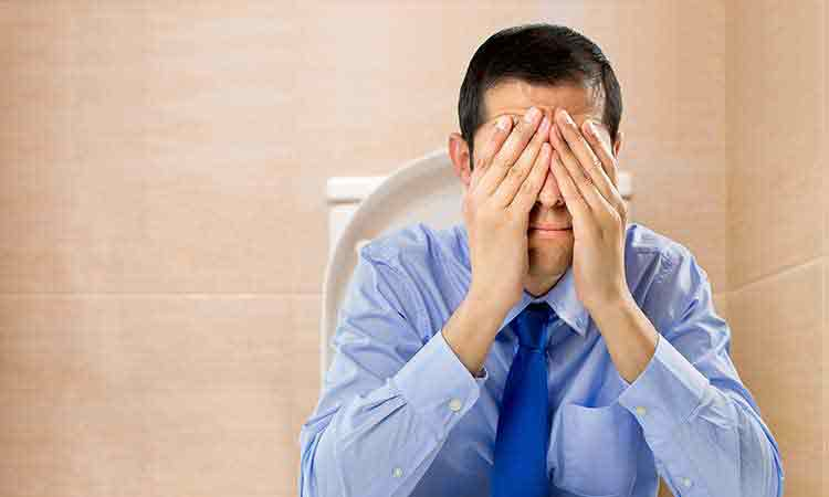 10 things that may make piles (haemorrhoids) worse
